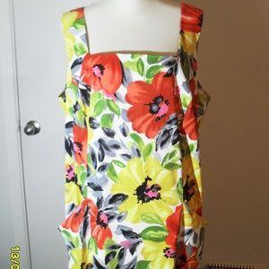 PRETTY WOMEN'S FLORAL DRESS SIZE 20W